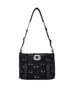 Kenzo | Black Nylon Eye Messenger Bag