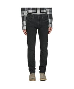 Levi's | Black Slim Straight 505c Jeans