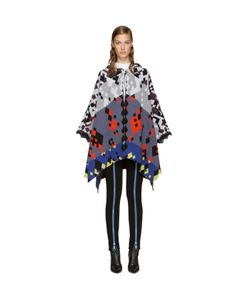 Peter Pilotto | Color Jacquard Cape