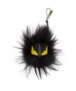 Fendi   Black Monster Charm Keychain