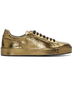 Jil Sander | Metallic Leather Sneakers