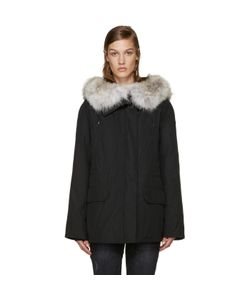 Army Yves Salomon | Army By Yves Salomon Fur-Lined Classic Parka