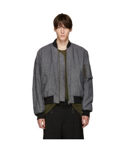 Haider Ackermann | And White Houndstooth Bomber Jacket