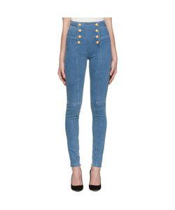 Balmain | Buttoned Jeans