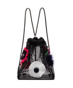 Christopher Kane | Crocheted Flower Backpack
