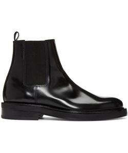 Carven | Leather Chelsea Boots