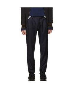 Giuliano Fujiwara   Wool Loose Trousers