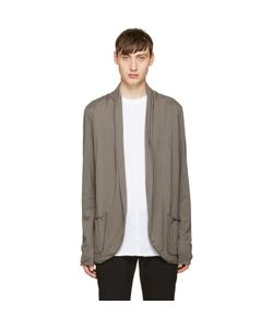 Attachment | Draped Jersey Cardigan