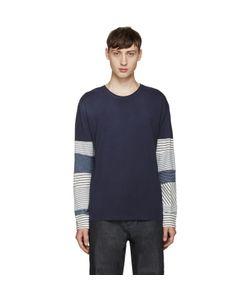 Loewe | Striped Sleeve T-Shirt