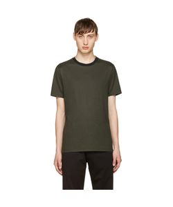 Giuliano Fujiwara   Striped Collar T-Shirt