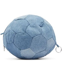 Bless | Denim Football Clutch
