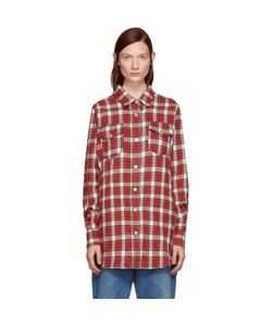Off-White | Flannel Plaid Shirt
