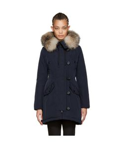 Moncler | Down And Fur Aredhel Coat