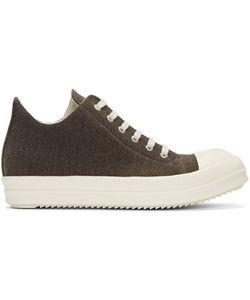 Rick Owens DRKSHDW   Flannel Sneakers