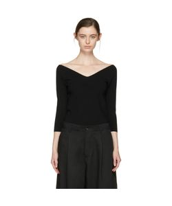 Studio Nicholson | Off-The-Shoulder Pullover