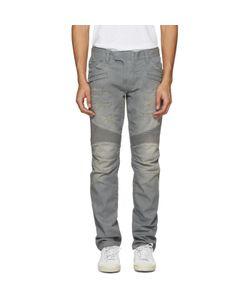 Balmain   Biker Rib Jeans