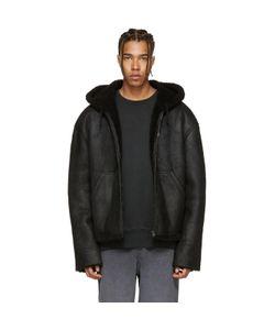 Yeezy   Short Shearling Jacket
