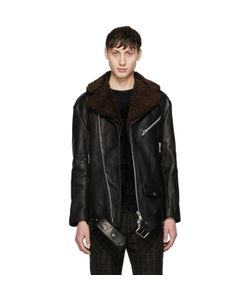 Cmmn Swdn | Oversized Leather Alec Jacket