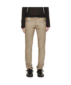 Balmain   Cotton Biker Jeans