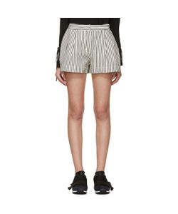 3.1 Phillip Lim   And Navy Striped Shorts