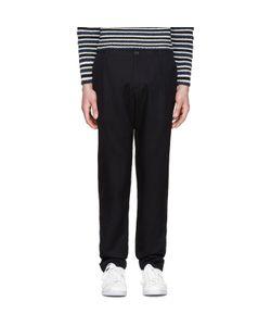 Raf Simons | Tonal Grid Trousers