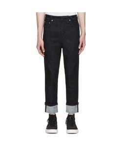 Neil Barrett   Cropped Cuffed Jeans