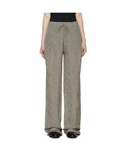 Yang Li   And White Gingham Trousers