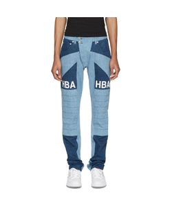 Hood By Air | Scuro Ormond Moto Jeans