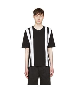 Giuliano Fujiwara | And White Striped T-Shirt