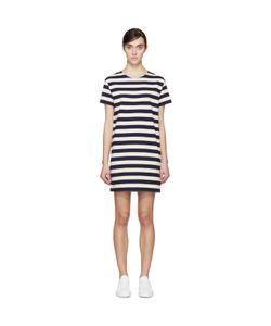 Nlst | And Cream Striped T-Shirt Dress