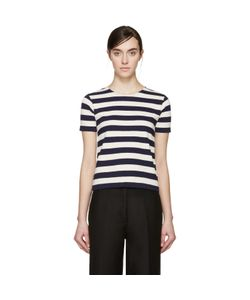 Nlst | And Cream Striped T-Shirt