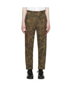 Yohji Yamamoto | Printed Jacquard Trousers