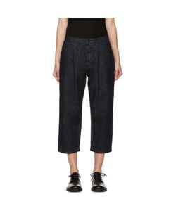 Studio Nicholson | Alfini Pleated Denim Trousers