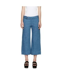 Nomia | Wide-Leg Denim Trousers