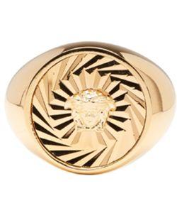 Versace | Circular Medusa Ring