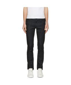 Fendi   Embroidered Zig Zag Pocket Jeans