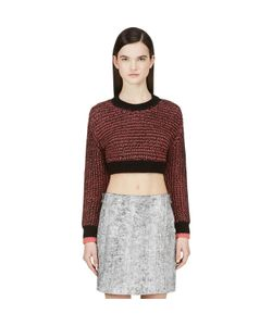 Cédric Charlier | And Pink Knit Crop Sweater