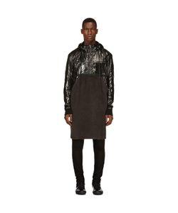 Damir Doma   Fleece And Nylon Runway Coat