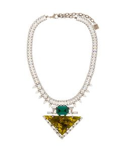 Dannijo | Resin And Crystal Elodie Necklace