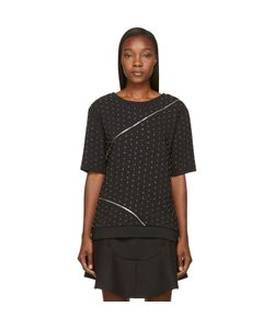Jay Ahr | Studded And Zipped Phenice Top