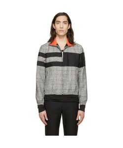 Kris Van Assche | Krisvanassche Check And Stripe Wool Jacket