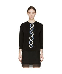 Christopher Kane | Rope Embroidered Top