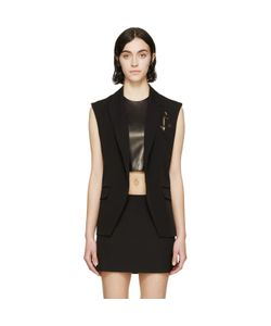 Anthony Vaccarello | Pinned Anchor Emblem Vest