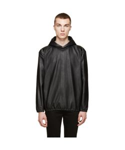 Paul Smith | Leather Side-Zip Hoodie