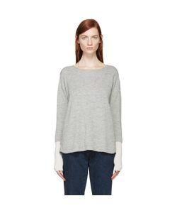 Aalto | And Pink Alpaca Wool Paneled Sweater
