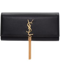 Saint Laurent | Leather Kate Tassel Clutch