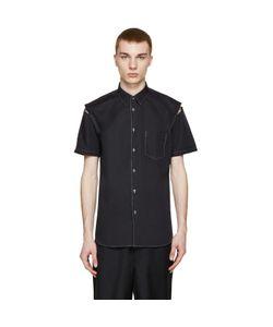 Comme Des Garçons   Shirt Contrast Stitch Shirt