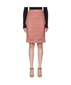 Burberry Prorsum | Tiered French Lace Skirt