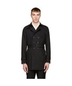 Burberry Prorsum | Camo Collar Trench Coat