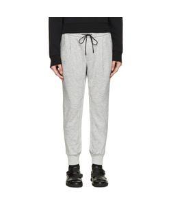 Juun.J   Cropped Jersey Lounge Pants